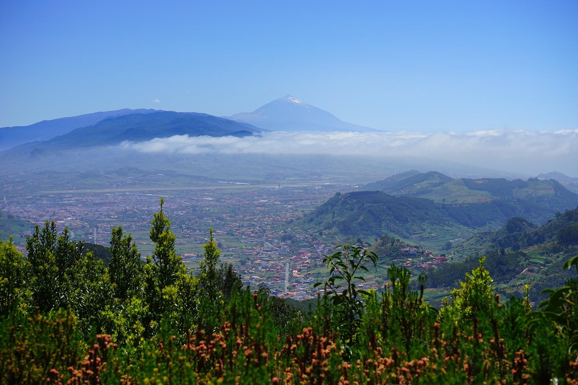 Paisaje en Tenerife